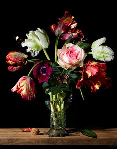 floral still life photography on Behance