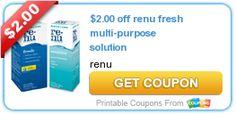 $2.00 off renu fresh multi-purpose solution