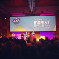 Marist Youth Festival kicked off last night and continues right through until Wednesday at the ATP Conference Centre. Such an inspiring event!