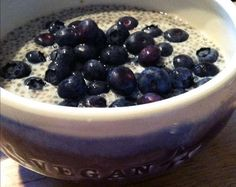 Overnight Chia Oat Banana Pudding | Made Just Right by Earth Balance vegan plantbased