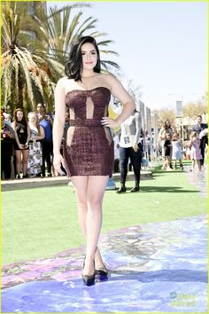 Ariel Winter's Sheer Look at the 'Smurfs: The Lost Village' Premiere Was All About Confidence