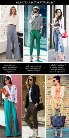Estilo Meu - Consultoria de Imagem / informal work / work outfit / image consulting / parsonal stylist / inspiring / blog / fashion blog / post layout / fashion post design / fashion post layout / outfits idea / looks / get inspired / fashion / style / stylish at work