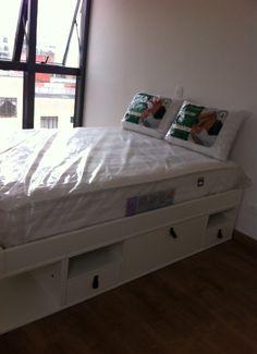 cama meu movel de madeira bali