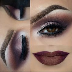 Aurora por el Maquillaje put together this amazing Motives Burgundy Smokey Eye Look tutorial. This look is perfect for all skin tones and shades, as well as ages.