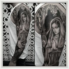 Hoy os mostramos el brazo terminado de nuestro amigo Adri. Este diseño de Javi Metetintas ha quedado brutal, ¿no os parece?. Nos vemos en Alta Escuela Tattoo