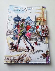 Standable Kindle Fire  Kindle Paperwhite case Nook HD by SewitGirl, $35.00 We love Paris.. Monogrammable