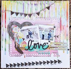The love of a friend! - Scrapbook.com