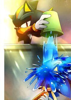 sonic and shadow *O*