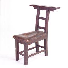 roycroft furniture   Rago Arts & Auction Center Image 1 ROYCROFT Meditation chair with long ...