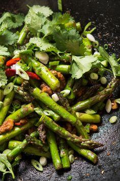 Not all asparagus di