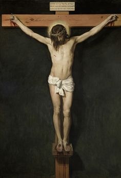 VELÁZQUEZ, DIEGO RODRÍGUEZ DE SILVA Y Cristo crucificado