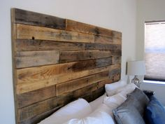 Hey, I found this really awesome Etsy listing at https://www.etsy.com/listing/235713561/reclaimed-wood-headboard