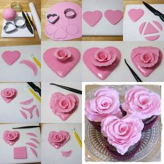 How To Scent Homemade Candles Candle Art, Rose Candle, Candle Molds, Homemade Candles, Diy Candles, Scented Candles, Crafts To Make And Sell, Diy And Crafts, Bougie Cupcake