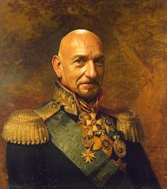 Digital photoshopped from portraits of russian generals made by english artist George Dawe during Napoleon's invasion of Russia. Description from pinterest.com. I searched for this on bing.com/images