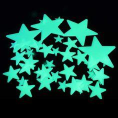 Estrellas que se iluminaban en la oscuridad