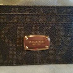 Michael Kors card case Nice little case, you can put in bag are wristlet New with tags MAKE OFFERS IF YOU LIKE. . Michael Kors Other