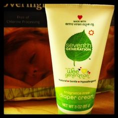 A Diaper Cream that is as natural for your baby as your love.