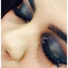 Rock Chick smokey eye Makeup