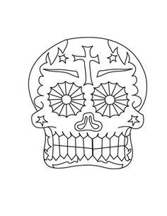 dia de los muertos coloring pages dibujo para colorear del dia de muertos calaberas - Cinco De Mayo Skull Coloring Pages