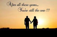 You're still the one!!!