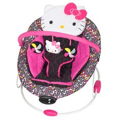 Baby trend Hello Kitty® Pin Wheel Trend Bouncer by Baby Trend