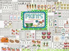 Plants Math and Literacy Centers  http://www.teacherspayteachers.com/Product/Plants-Math-and-Literacy-Centers-630337