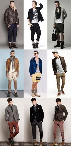 Men's Boot Socks Lookbook