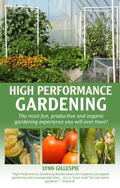 The High Performance Garden eBook is the beginning of your high performance garden journey! Garden Works, Easy Garden, Organic Compost, Organic Farming, Sustainable Gardening, Organic Gardening, Gardening Courses, Gardening Tips, Garden Compost