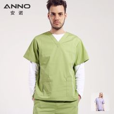 d0120a925b4 ANNO Medical Uniforms Scrubs Set Women Men Nurse Hospital Dental Spa Beauty  salon Work Wear Surgical Clothing Medical Clothes