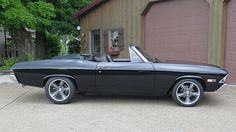 1968 Chevrolet Chevelle Convertible LS4, 6L80E, Wilwood Disc Brakes presented as lot S165 at Schaumburg, IL 2015 - image2