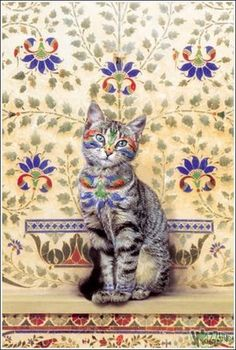 Unusuals Things: Awesome painted Cats and Dogs Art