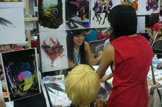"""Leslie Hung (pictured here) - Anime Expo 2012 - FuTurXTV & FUNK GUMBO RADIO: http://www.live365.com/stations/sirhobson and """"Like"""" us at: https://www.facebook.com/FUNKGUMBORADIO"""