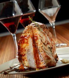 Χοιρινό κόντρα ψητό με σάλτσα από τους χυμούς του | Γιάννης Λουκάκος Xmas Dinner, Home Food, Lasagna, French Toast, Food Porn, Pork, Cooking Recipes, Tasty, Snacks