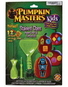 Stained Glass Pumpkin Kit – Spirit Halloween