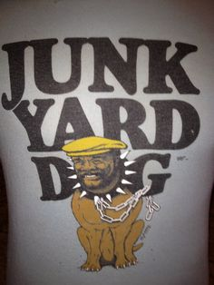 Junk Yard Dog WWF Shirt by JTandTees on Etsy, $30.00