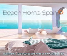 beach home spain - Apartments, townhouses and villas on the Costa del Sol Small Tiny House, Tiny House Cabin, Modern Wooden House, Modern House Design, Ibiza, Black Bedroom Design, Attic Bedrooms, Farmhouse Chic, The Hamptons