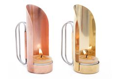 Copper & Brass Handheld Lantern