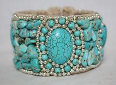 Pretty turquoise cuff