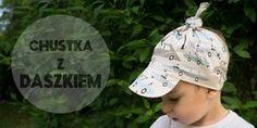 Blog - porady, tutoriale - Szyj z Dresówka.pl - CHUSTKA Z DASZKIEM