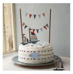 sailboat cake for boys