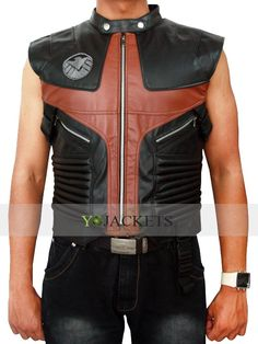 The Avengers Hawkeye Real Leather Vest is available at yojackets.com Now on sale with Discounted Price. Free Worldwide Shipping including free gift.   #Avengers #Hawkeye #weekendfashion #weekendstyle #male #mens #swag #sales #deals #shopping