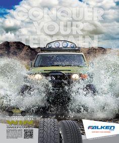 Recoil Magazine Ad, Conquer Your Terrain, WildPeak