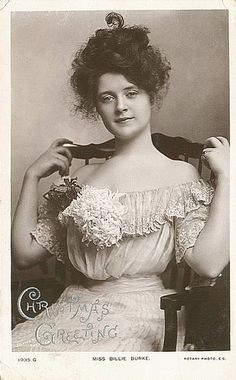 Billie Burke aka the Glinda the Good Witch! Doesn't she look a bit like Marion Cotillard? Belle Epoque, Vintage Photos Women, Vintage Photographs, Vintage Ladies, Divas, Glenda The Good Witch, Billie Burke, Broadway, Gibson Girl