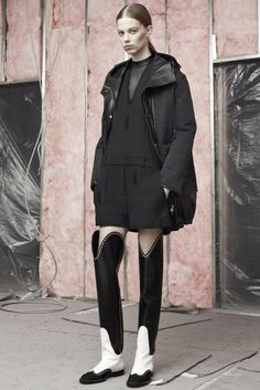 Alexander Wang Pre-Fall 2014 - New coat love for AW14
