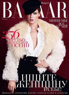 Harper's Bazaar Russia - October 2013 cover