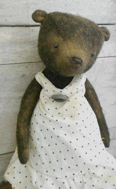ByThyHandsTinkerings: Little Miss Bennington Bear Now on my Ebay~