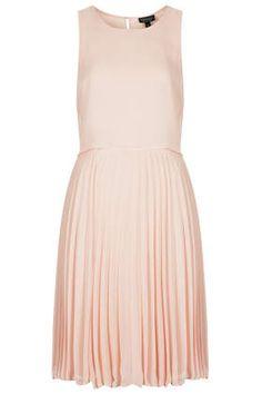 f4e58866e477 Midi Pleat Overlay Dress from Topshop Bridesmaid Dresses Singapore, Boho  Fashion Summer, Beach Dresses