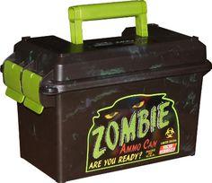 Zombie Ammo (storage) Can