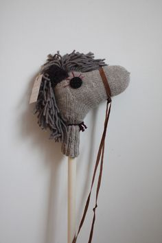sylvi stick horse. remembering for future children :)