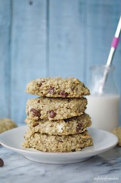 Looking for a quick grab-and-go breakfast? These Gluten-Free SunButter Breakfast Cookies are healthy and filling.